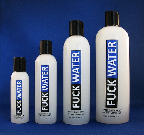 Fuck Water Water Based Lubricant
