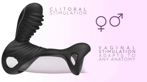 Gladiator F Cock Ring with Remote Control by Adrien Lastic