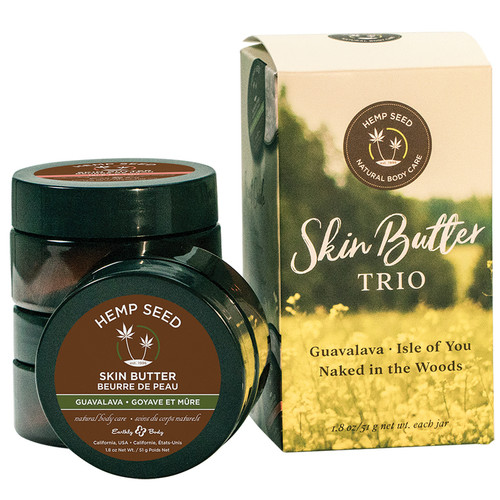 Hemp Seed Skin Butter Trio Gift Set by Earthly Body