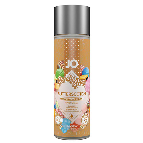 JO Candy Shop Flavored Water Based Lubricant by System JO-Butterscotch