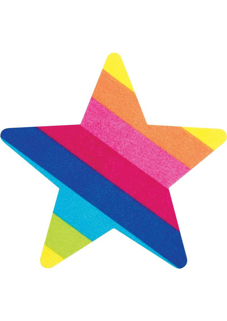 Peekaboo Rainbow Striped Starz Pasties