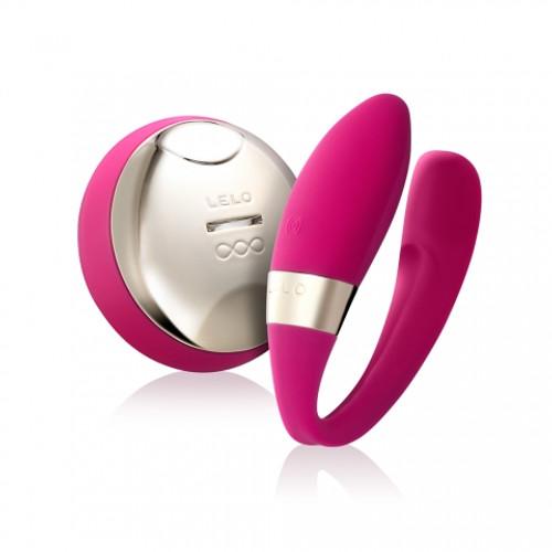 Tiani 2 Couples Vibrator by LELO-Cerise