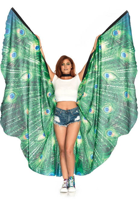 Festival Peacock Feather Wings