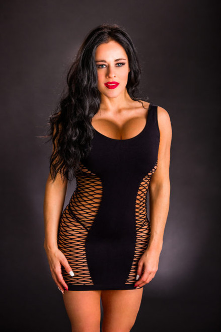 Black Tank Dress by Beverly Hills Naughty Girl