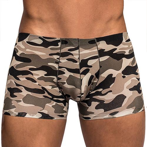 Male Power Commando Camouflage Mini Shorts for Men