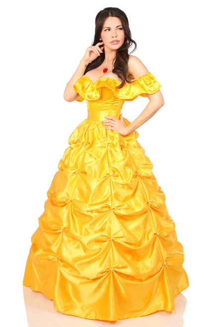 Belle Yellow Corset Costume by Daisy Corsets