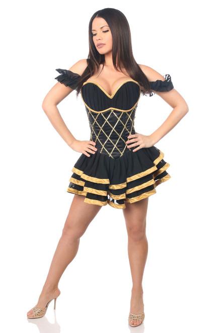 Egyptian Goddess Corset Dress Costume by Daisy Corsets