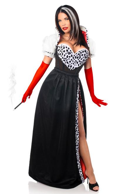 Cruella de Vil Corset Costume by Daisy Corsets