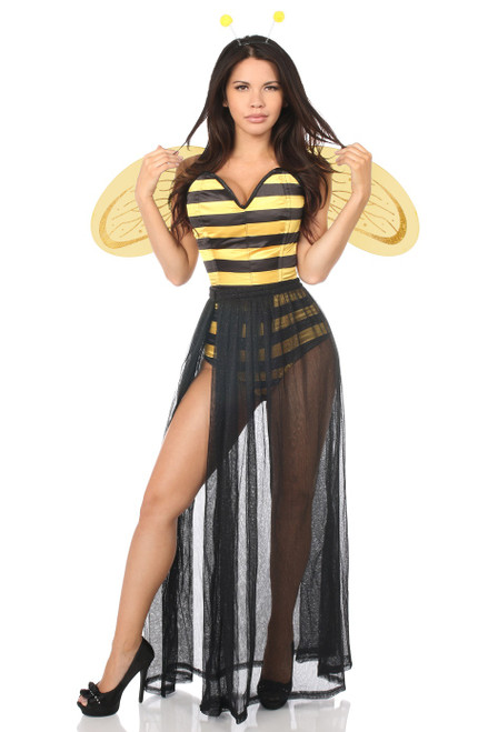 Bumblebee Corset Romper Costume by Daisy Corsets