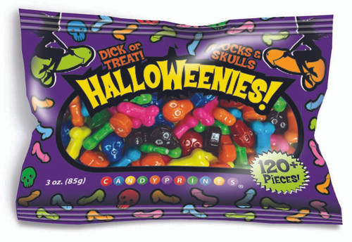 Halloweenies Naughty Halloween Candy 3 oz Bag