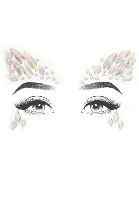 Arista Crystal Jewel Face Stickers