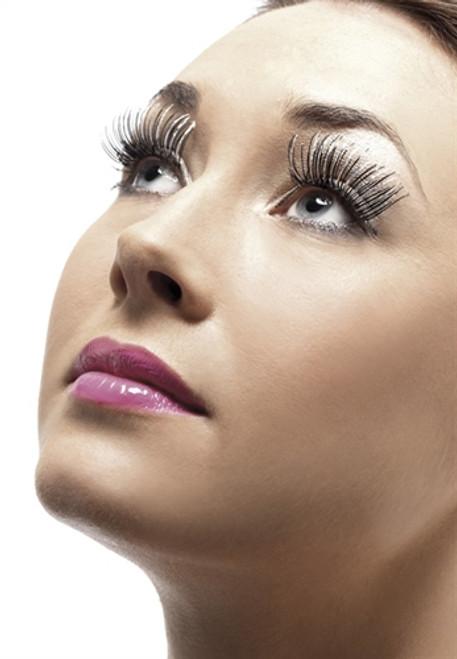 Black and Silver Holographic Eyelashes