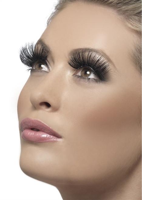 Black 60's Style Eyelashes