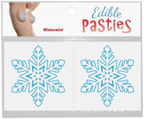 Edible Christmas Snowflake Pasties