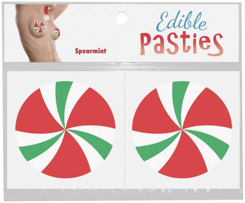 Edible Christmas Candy Swirl Pasties
