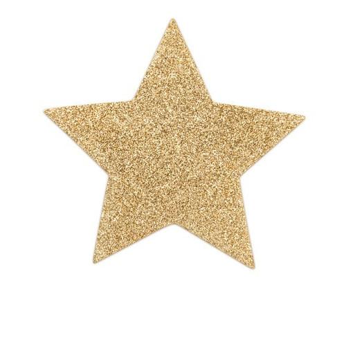 Bijoux Indiscrets-Flash Star Glitter Pasties-Gold