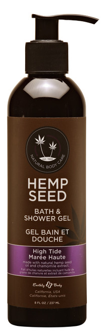 Hemp Seed Bath and Shower Gel by Earthly Body-High Tide