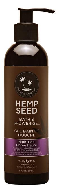 Hemp Seed Bath and Shower Gel by Earthly Body-High Tide
