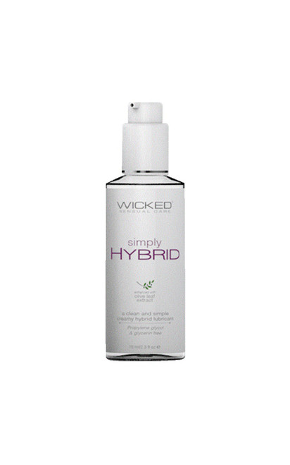 Wicked Simply Hybrid Fragrance Free Lube-2.3 fl oz