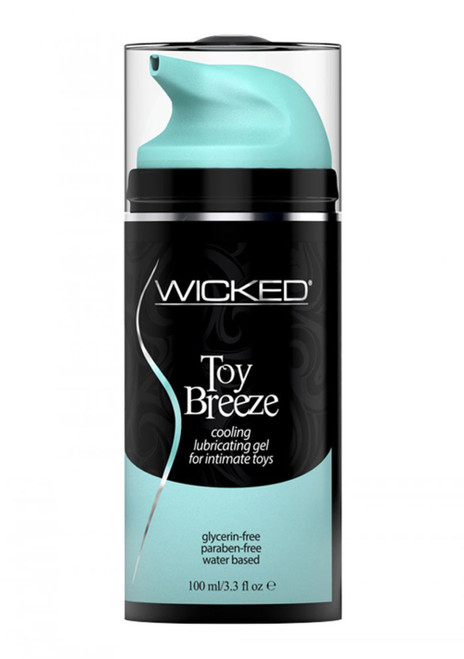 Wicked Toy Breeze Cooling Gel Lubricant for Pleasure Toys