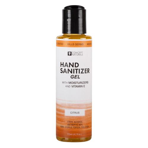 Concept Naturals Citrus Hand Sanitizer Gel-4.2 fl oz