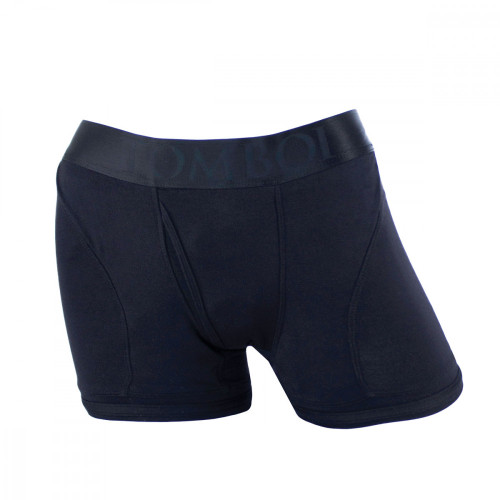 SpareParts Tomboii Black Strap On Harness Boxer Briefs