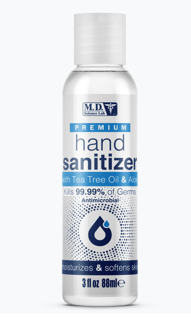 Hand Sanitizer with Tea Tree Oil and Aloe