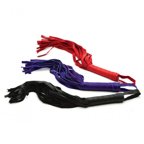 Foxtails Leather Flogger 12 inch
