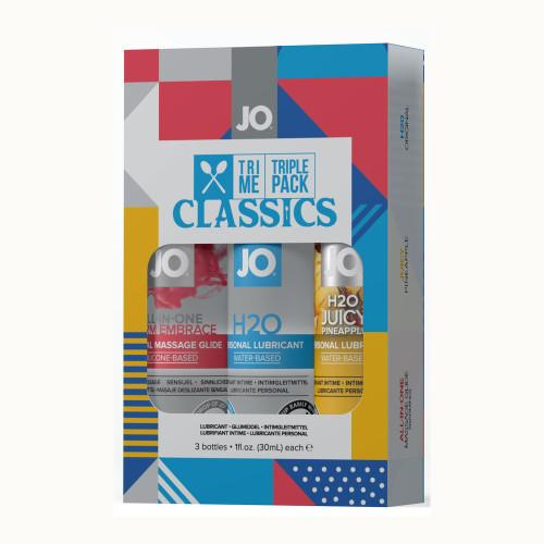JO Tri Me Triple Pack Classics Lubricant