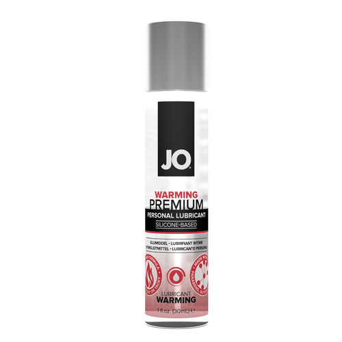 JO Premium Warming Silicone Lubricant-1 fl oz