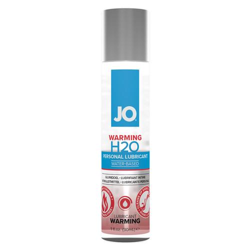 JO Warming H2O Water Based Lubricant-1 fl oz