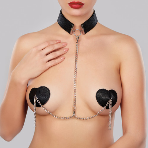 Allure Lingerie Le Burlesque Collar and Pasties Set