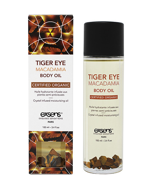 Exsens Paris Tiger Eye Macadamia Organic Body Oil