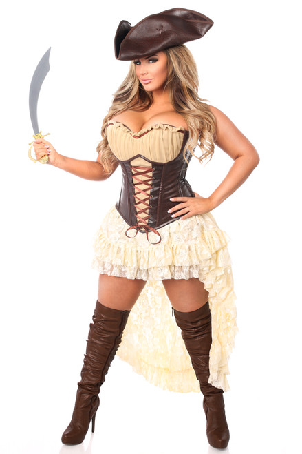 Pirate Captain Corset Costume by Daisy Corsets