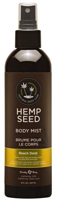 Earthly Body Hemp Seed Body Mist-Beach Daze