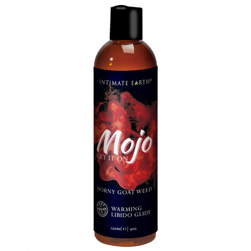 Intimate Earth Mojo Get It On Horny Goat Weed Warming Libido Glide