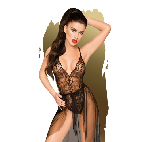 Penthouse Lingerie Best Foreplay Teddy and Skirt