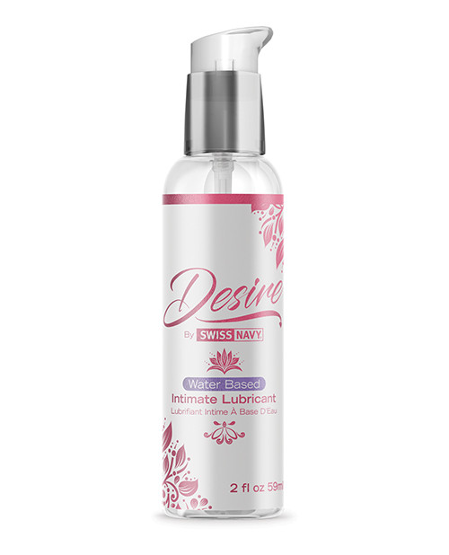 Desire Water Based Intimate Lubricant by Swiss Navy-2 fl oz