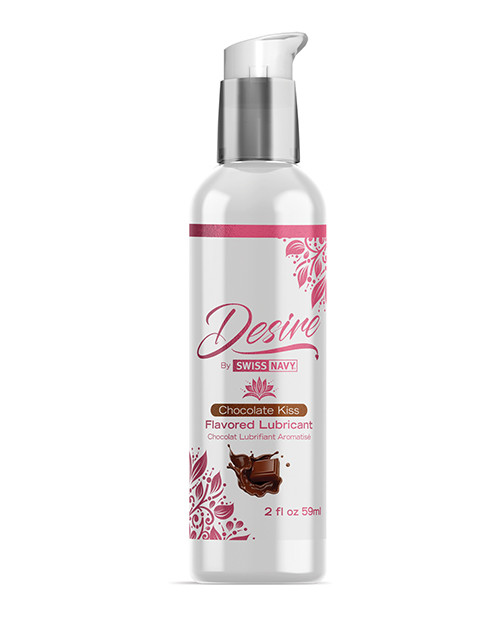 Desire Flavored Water Based Lubricant by Swiss Navy-Chocolate Kiss