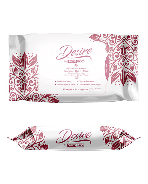 Desire Feminine Wipes by Swiss Navy