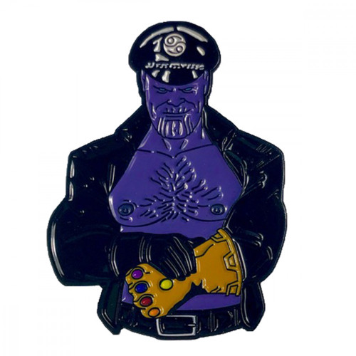Geeky and Kinky Thanos BDSM Pin