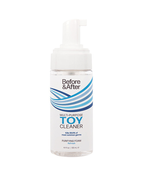 Before and After Foaming Toy Cleaner-4 fl oz