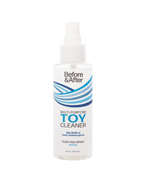 Before and After Toy Cleaner Purifying Spray-4 fl oz