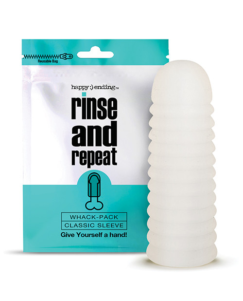 Happy Ending Rinse and Repeat Whack Pack Classic Stroker-Sleeve