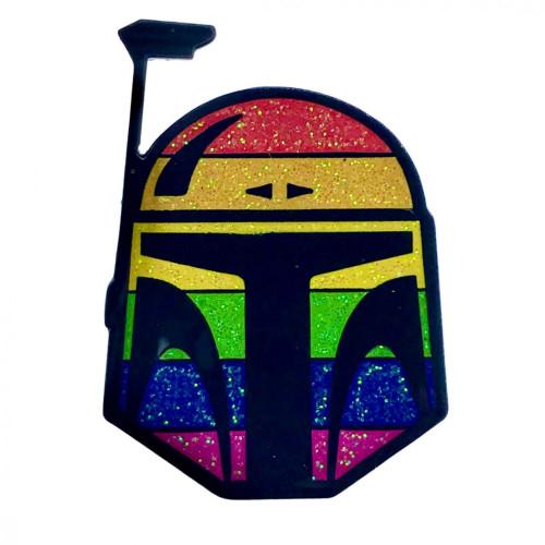 Geeky and Kinky Boba Fett Pride Pin