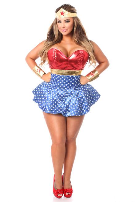 Wonder Woman Corset Dress Costume by Daisy Corsets