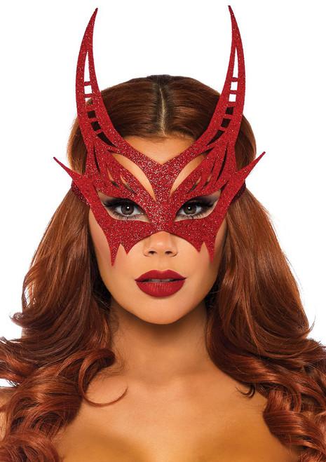 Red Devil Masquerade Mask