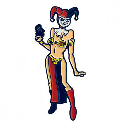 Geeky and Kinky Harley Quinn Pin
