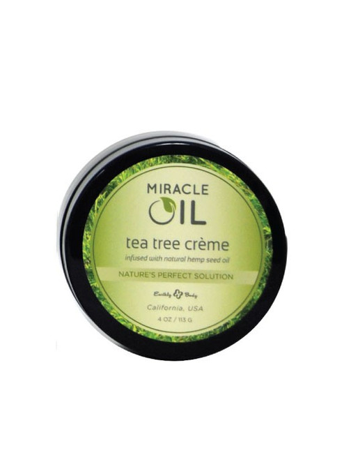 Miracle Oil Tea Tree Creme by Earthly Body