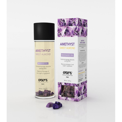 Exsens Paris Amethyst Sweet Almond Relaxing Massage Oil